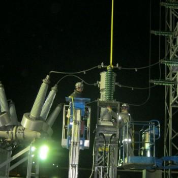 Disjoncteur de puissance 120kV